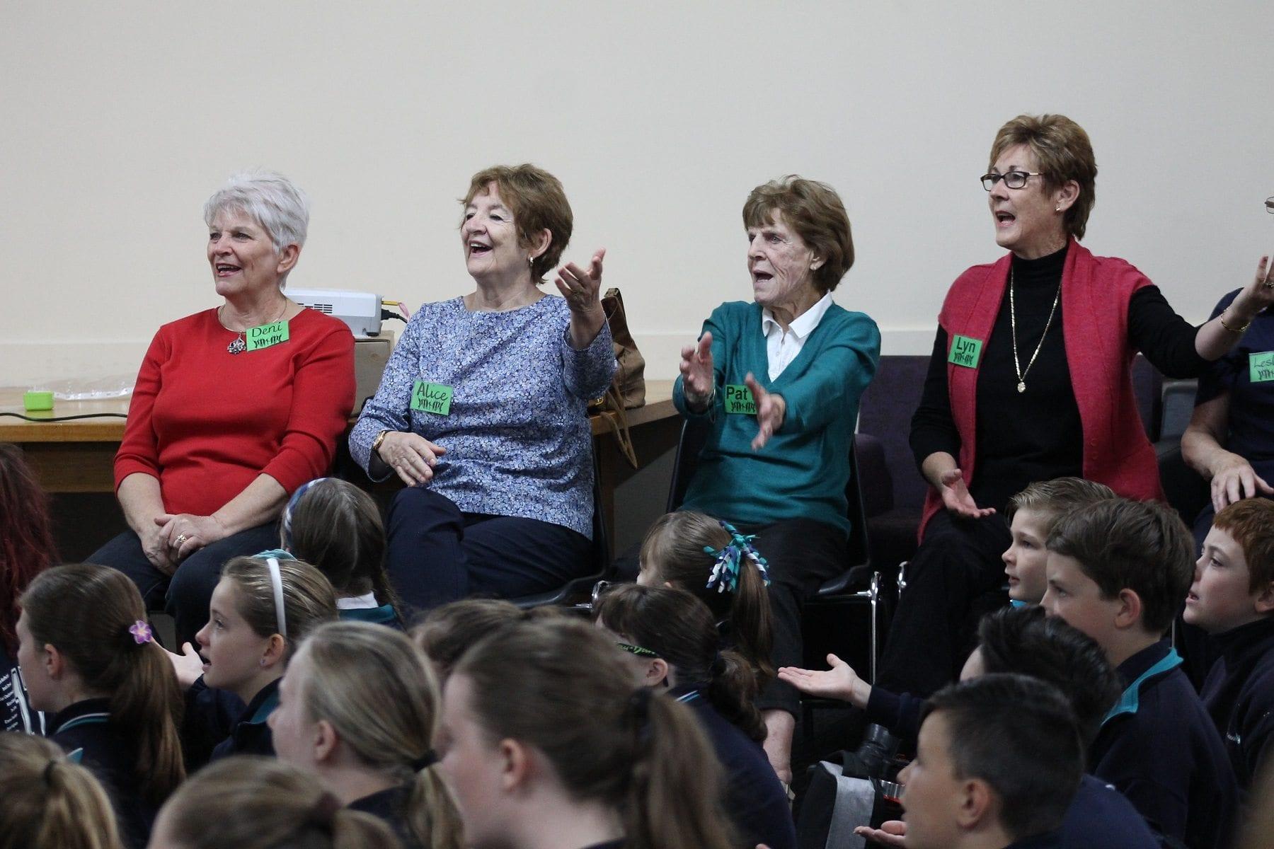 ach group choir singing