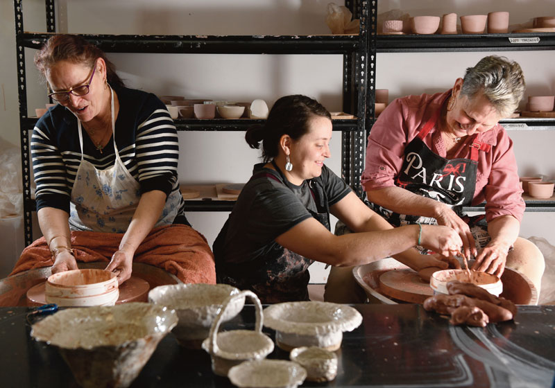 ACH good lives ceramics workshop