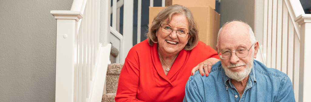 retired-couple-downsizing-for-retirement-living