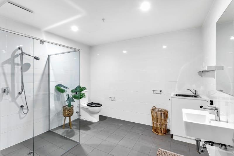 Spence on light bathroom unit 1304