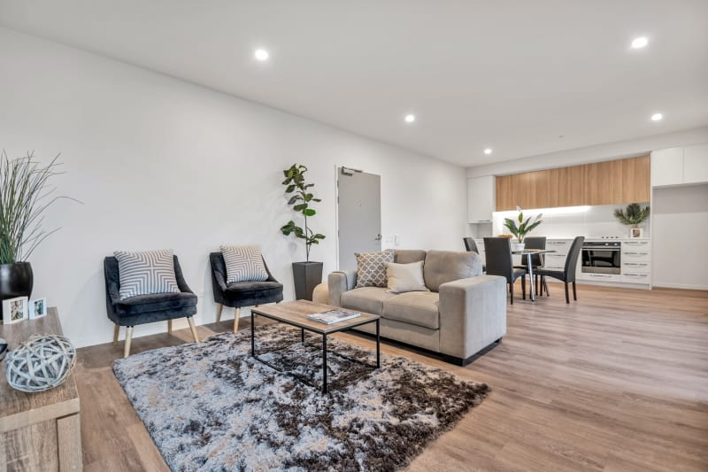 City Living stylish open plan living and dining area