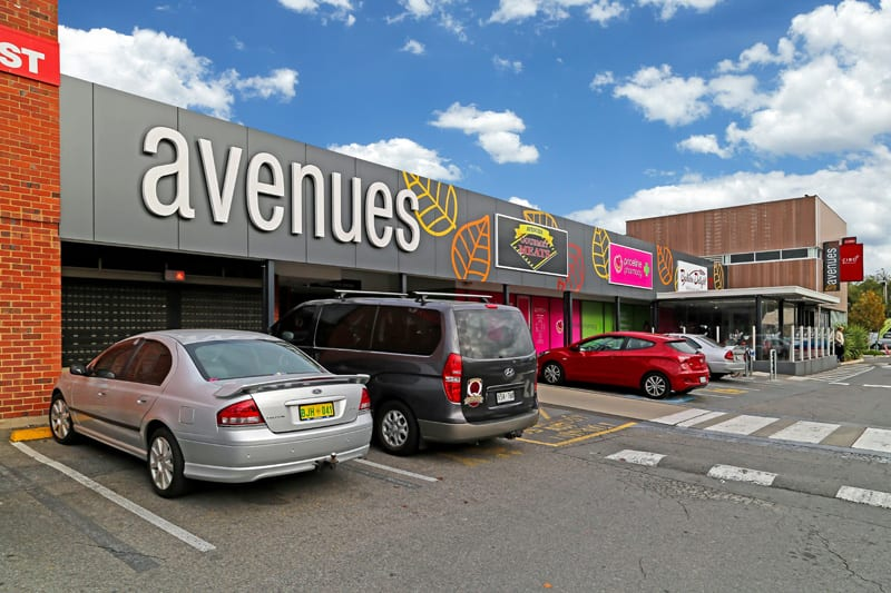 The Avenues shopping centre