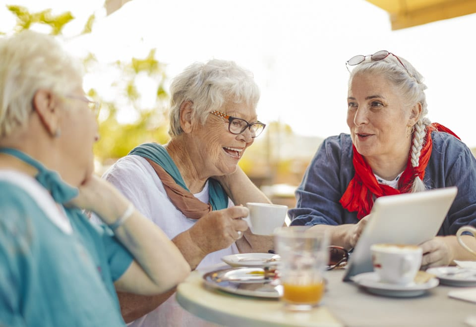 retirement living brings you a sense of support and community