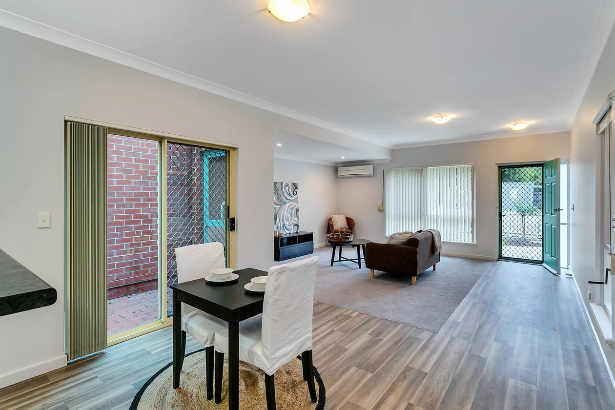 Marden retirement living lounge space