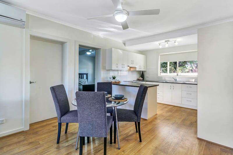 Glynde retirement living dining room
