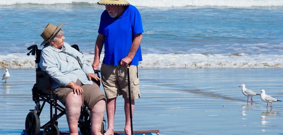 goolwa aged care residents beach