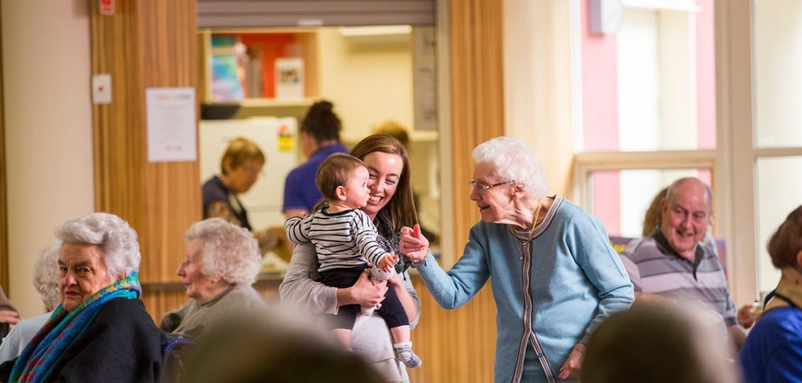 nursing home hope valley families visiting