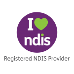 I love ndis icon indicating ach group is a registered ndis provider