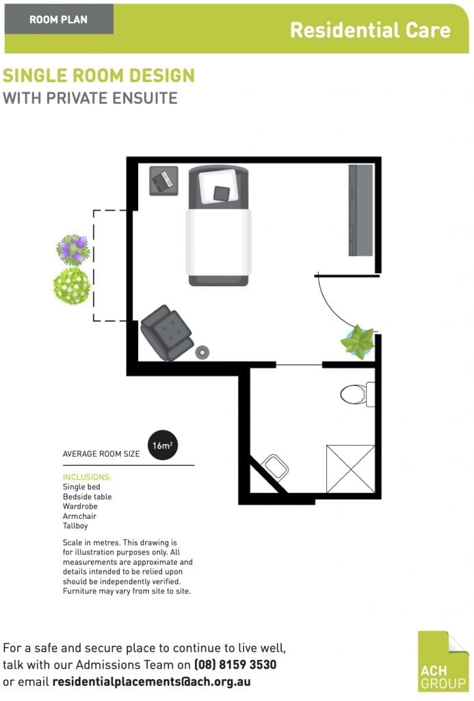 ach group residential care home floor plan