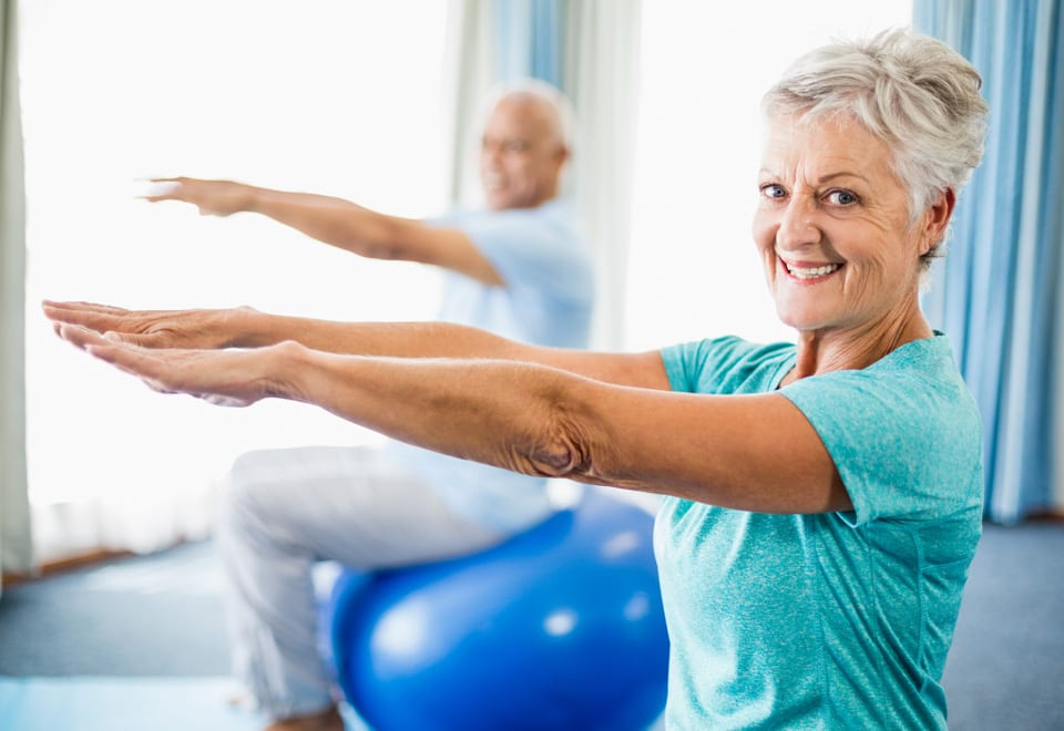 Staying active and joining balance class helps prevent falls in older people
