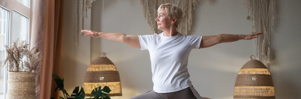 Yoga benefits to older people
