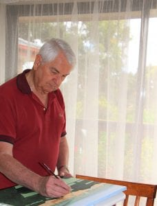 Stephen who is living with Parkinson joins SALA 2021