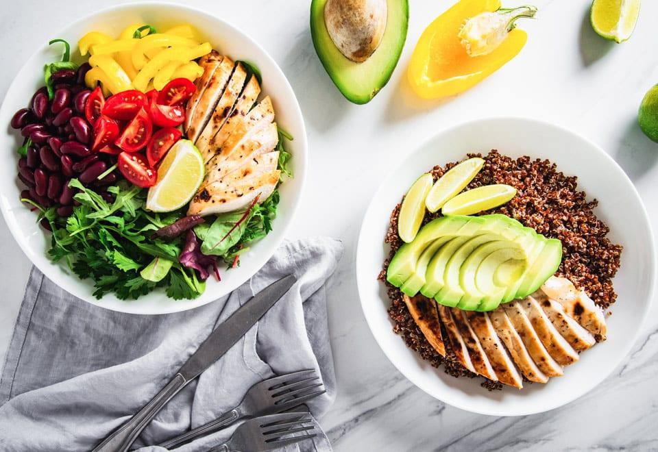 Having a healthy balanced diet help prevent diabetes