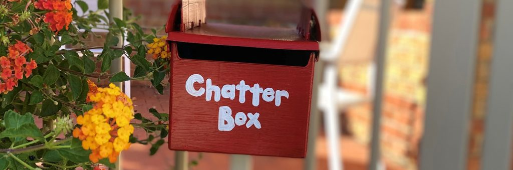 Chatter box Maureen story at Colton Court