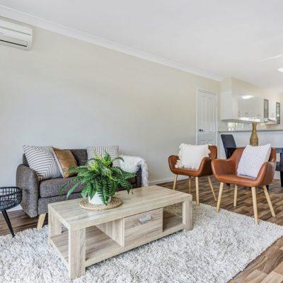 ACH Group Morphett Vale retirement living unit lounge room