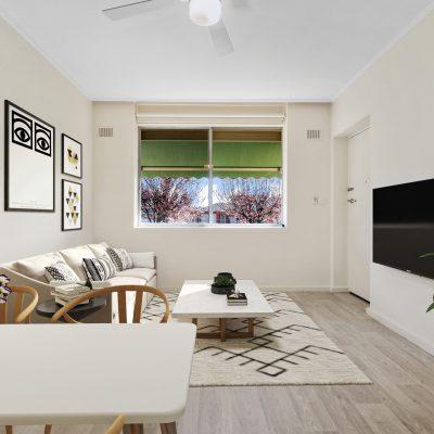 U77 SKW - Lounge dining with virtual furniture