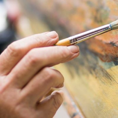 residential care home painting class