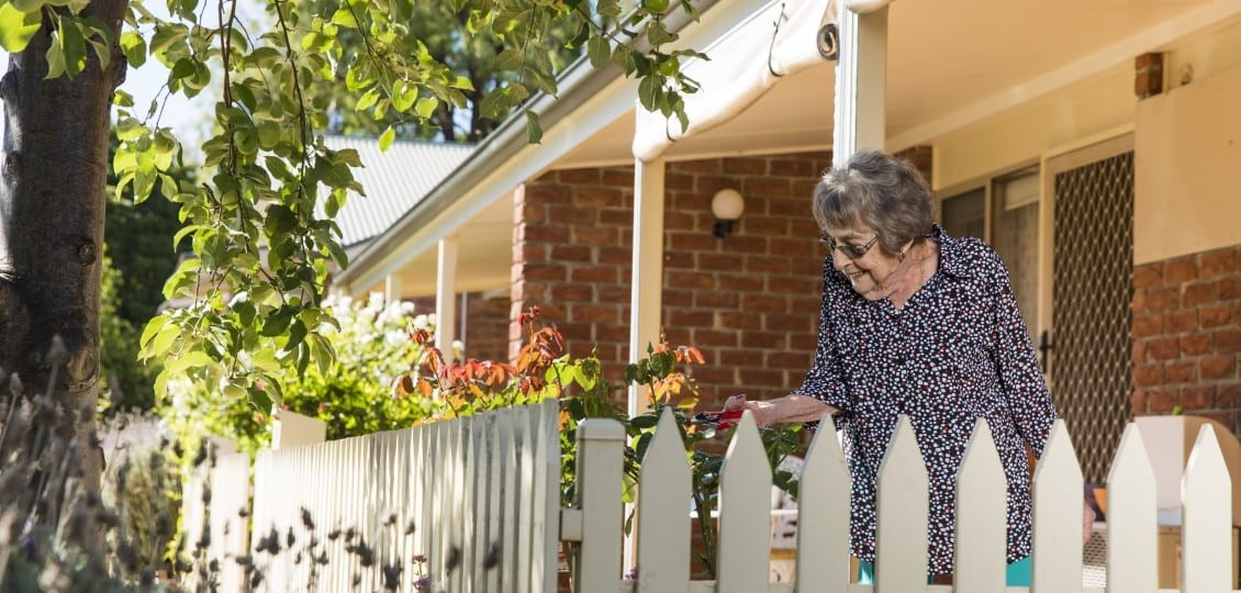 mclarenvale care home garden