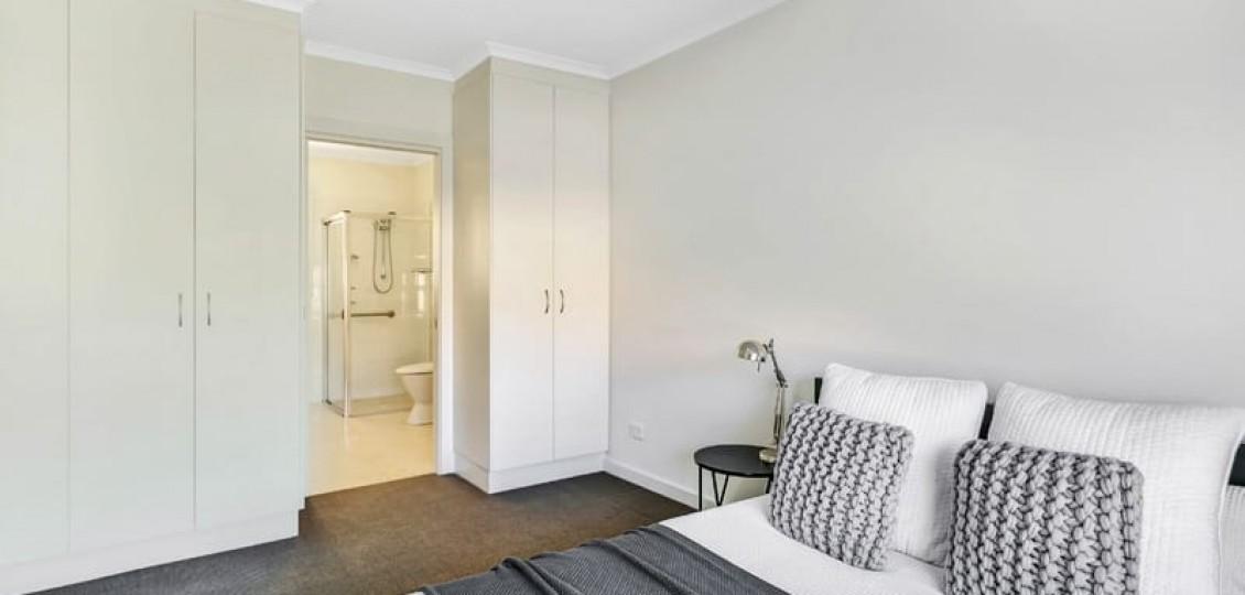 Glynde retirement living living bedroom