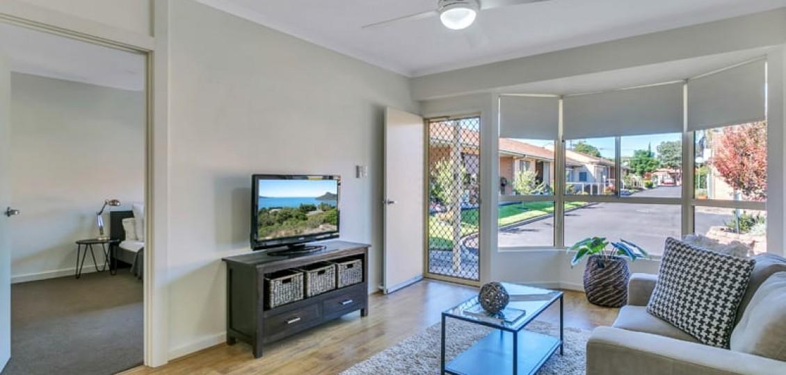Glynde retirement living living room space