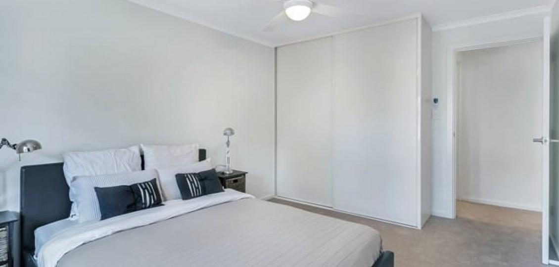 Joslin retirement living bedroom