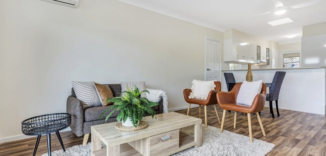 ACH Group Morphett Vale retirement living unit lounge room