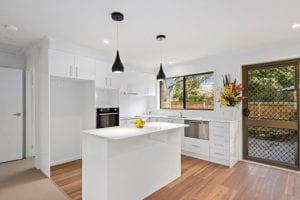 Forest Hill retirement unit - kitchen view
