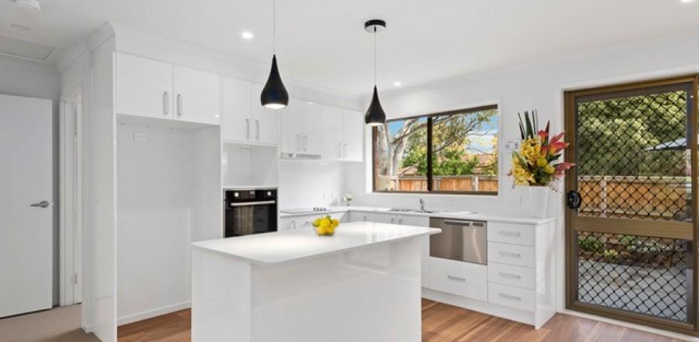 Forest Hill retirement living unit kitchen