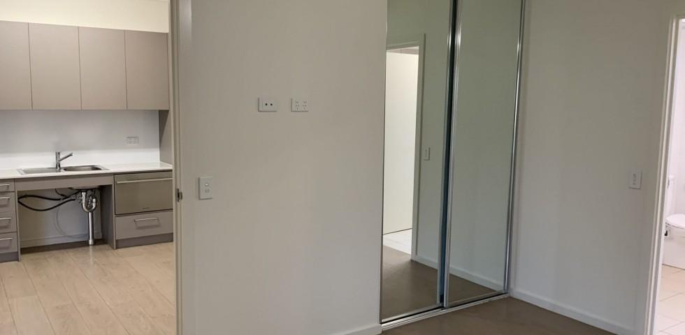 accessible unit kitchen living area