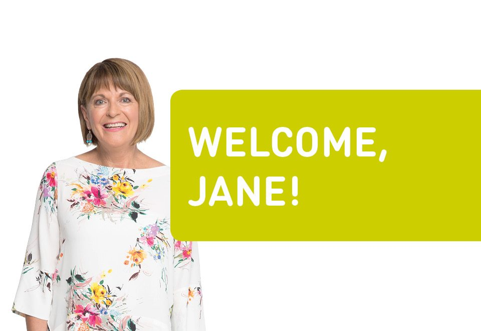jane reilly welcome banner