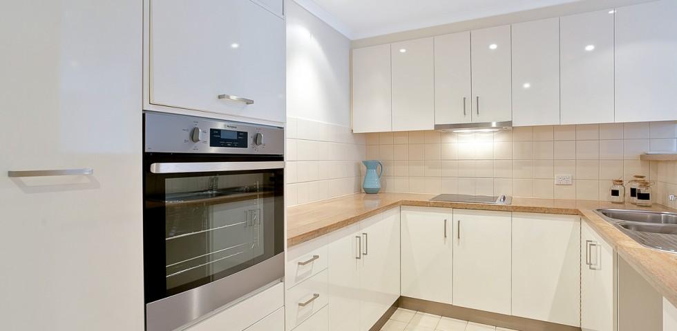 glenelg retirement living unit kitchen