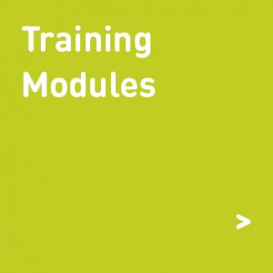 training modules graphic