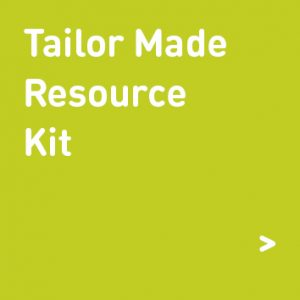 tailor made resource kit graphic