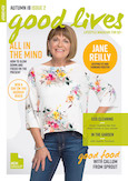 ACH Good Lives magazine cover with Jane Reilly
