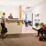 ACH health studio 50+ in Glenelg lobby