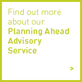 planning ahead advisory service icon