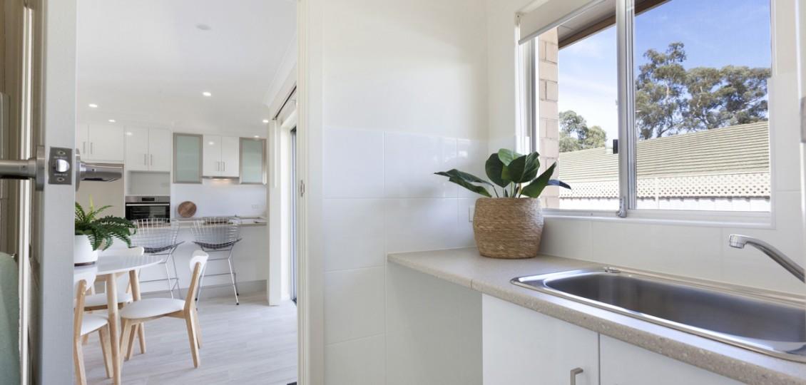 Campbelltown retirement living unit kitchen