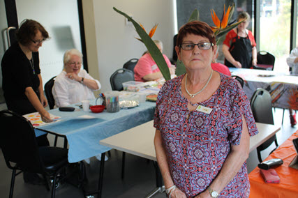 Maxine Bawden - ACH art class volunteer