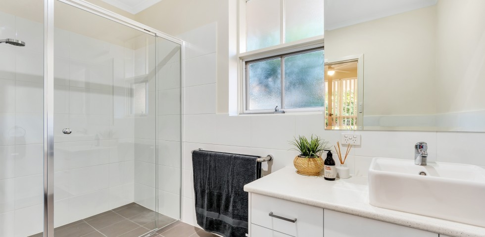 Bathroom at Magill retirement housing unit in adelaide