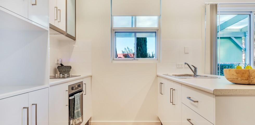 Magill retirement living unit 2 kitchen