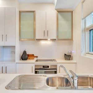 walkerville retirement living unit kitchen