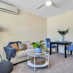 ach group Magill retirement living unit lounge room