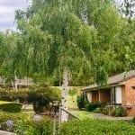 Rear garden at Adelaide ACH retirement village in Forest Hill
