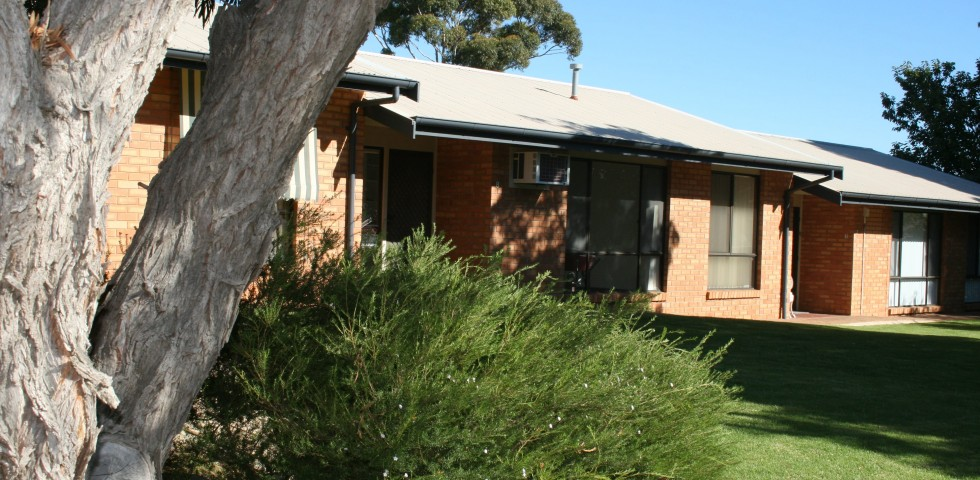 front view of ACH morphett vale retirement living units