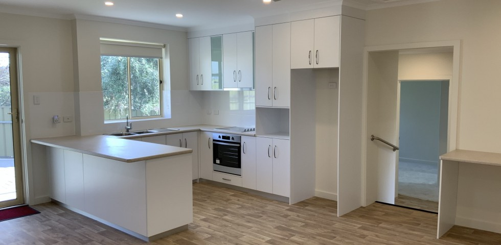 Felixstow retirement living unit kitchen