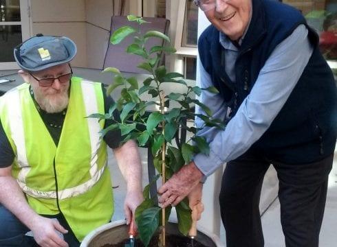 highercombe residential care home gardener in hope valley