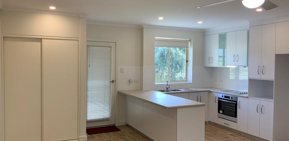 Felixstow retirement living unit kitchen and laundry