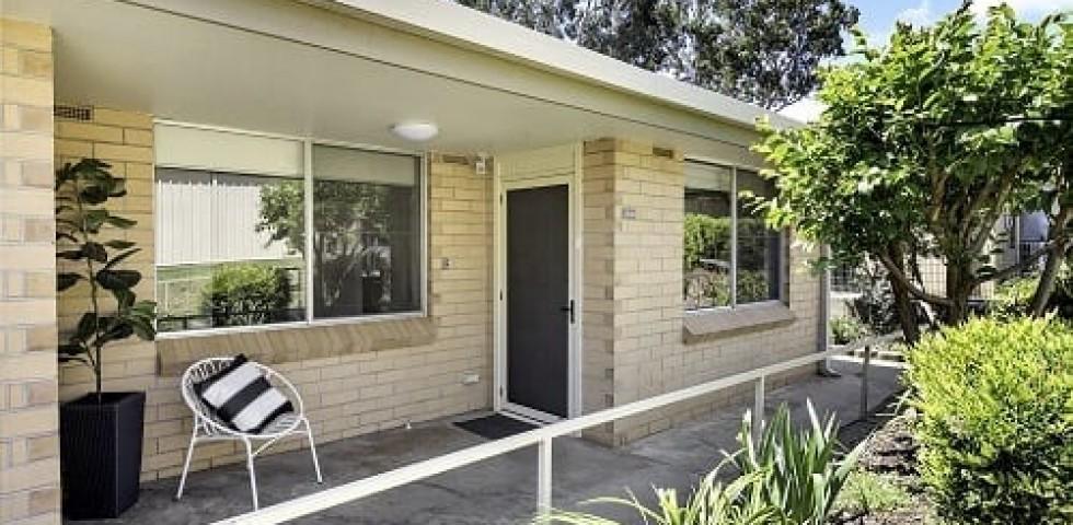 magill retirement living unit front porch