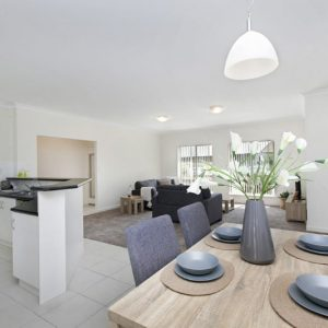 Yankalilla retirement living unit dining area
