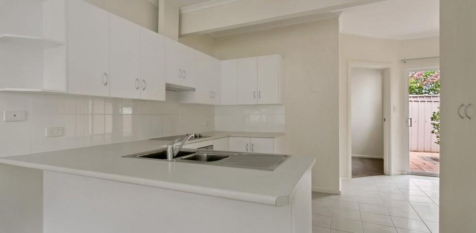 magill retirement living unit kitchen